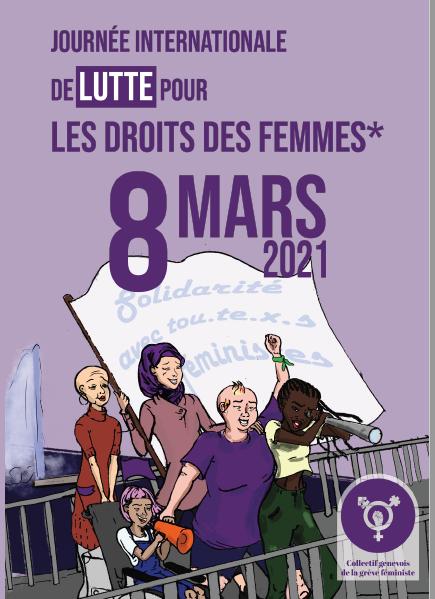 8 mars 2021 : Journée Internationale de Lutte pour les Droits des Femmes*